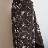 Отрез декорированного вельвета, вельвет, ткань, ткани