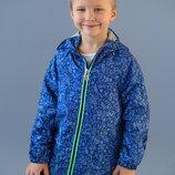 Ветровка морская для мальчика синий