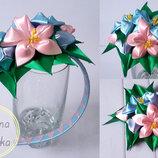Разные весенние обручи с букетом цветов для девочки к праздникам, розы