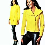 Эксклюзивное желтое пальто - трансформер l USA куртка 2 в 1