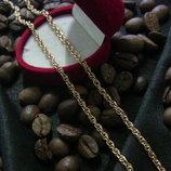 медицинское золото/медичне золото,цепочка/ланцюжок,позолота18К, довжина 45см, ширина 2 мм