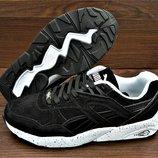 Мужские черные кроссовки Puma Trinomic. Производство Румыния