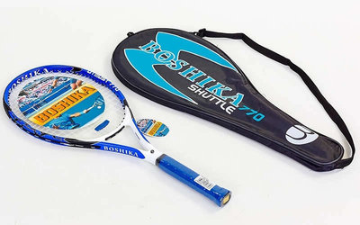 Ракетка для большого тенниса Boshika 770 чехол в комплекте