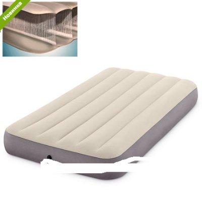 Надувная Велюровая кровать - Матрас 64102