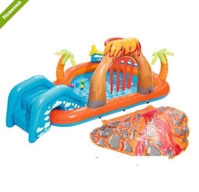Детский надувной центр Bestway 53069 «Вулкан», 265 х 265 x 104 см