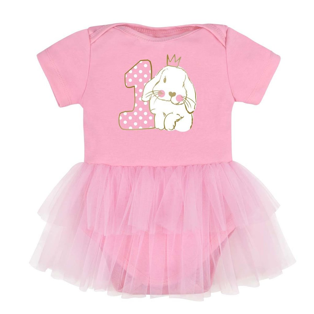 Продано  Боди с юбкой Bunny birthday рост 62-86 - бодики 4c61a35cba7ad