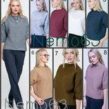 Стильный джемпер 42-44, 46-48 вязаный свитер свитерок шерсть акрил