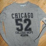 Краасивый лёгкий свитерок мальчику 104-110