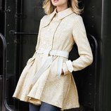 Твидовое пальто люрекс victoria's secret оригинал