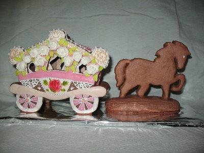 Пряники медово- имбирно- шоколадные