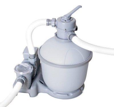 Песочный фильтр Bestway 58366 Sand Filter Pump, мощностью 7 571 л/ч