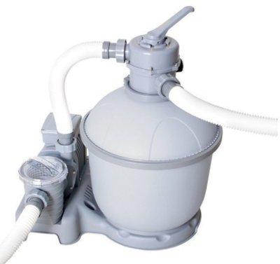 Песочный фильтр Bestway 58404 Sand Filter Pump, мощностью 5 678 л/ч