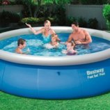 Надувной бассейн Bestway 396 х 84 см 57321. Семейный Fast Set