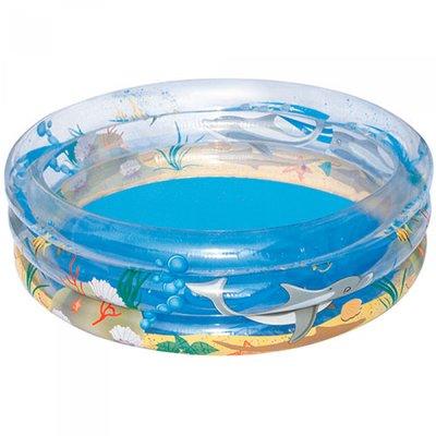Детский круглый бассейн Морская жизнь , 170х53 см, 697 л 51048