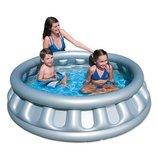 Детский круглый бассейн Космический корбаль , 152х43 см, 512 л