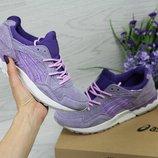Кроссовки женские замш Asics Gel Lyte V purple