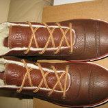 Ботінки брендові шкіра хутро теплі CONVERSE All STAR Оригінал р.40 стелька 25,5 см