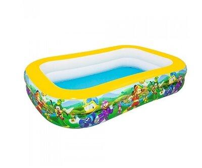 Детский надувной бассейн 262 х 175 х 51 см Bestway 91008 «Микки Маус»,