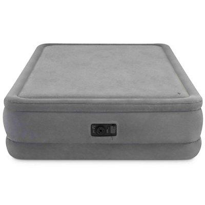 Двухспальная надувная кровать Intex 64470 c электрическим насосом