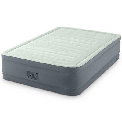 Надувная Кровать INTEX 64904 137X191X46 См. Встроенный Насос 220 В