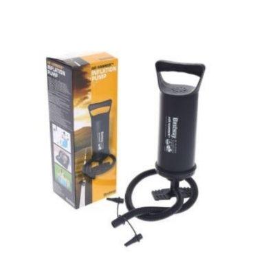 Ручной насос для надувания BestWay 62003, объем 1.85 л, 36 см, черный