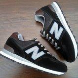 Черные мужские кроссовки New Balance 574. VIETNAM
