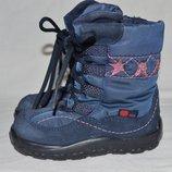 Cапоги ботинки Elefanten-tex 22р. M IV кожа шерсть