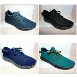 Текстильные кроссовки, р. 36-45