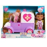 Doc McStuffins and Rosie the rescuer Доктор плюшева и музыкальная скорая помощь