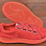 Красные женские кроссовки кеды Navigator Red. Доставка по Украине