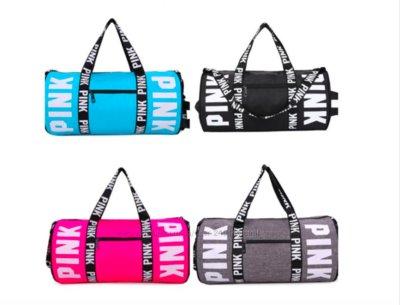 c757c750 Спортивная сумка для фитнеса Victorias Secret черная,серая,розовая,бирюзовая