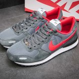 Кроссовки мужские Nike Air Pegasus,замша, серые