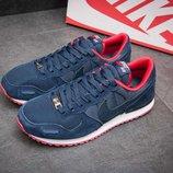 Кроссовки мужские Nike Air Pegasus,замша, синие