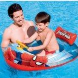 Детская надувная лодка для плавания Bestway 98009 «Человек-паук», 112 х 71 см