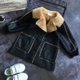 Куртка детская кожанка