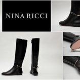 Дизайнерские сапоги NINA RICCI Paris. 100% Original. р. 37, 38, 40.
