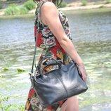 Кожаная сумка Валенсия разные цвета