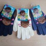Детские перчатки Доктор Плюшева Дисней