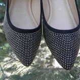 23,4 и 24,4см балетки женские, польские туфли. Польша Vices, туфли женские