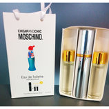 Подарочный набор, eau de toilette Moschino Cheap and Chic Москино Чип энд Чик 2 запаски, 3 15 м
