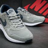 Кроссовки мужские Nike Air Pegasus,замша,серые