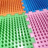 Ортопедический коврик пазл - Волна, разные цвета
