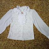 Школьная блузка, р.140-146