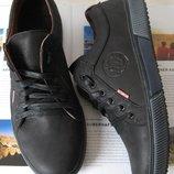 Wrangler Мужские кеды весна осень обувь 2018 кожаные туфли Вранглер ботинки черные черевики
