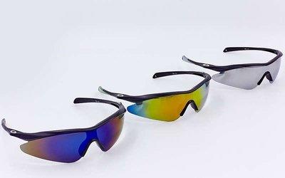 Велоочки солнцезащитные Oakley 146 спортивные очки 3 цвета