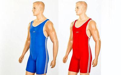 Трико для борьбы и тяжелой атлетики Asics 5440 2 цвета, размер XS-XL