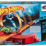 Машинки Hot Wheels Трек Опасный мост Сокрушительный удар ниндзя BGH87 BGH90