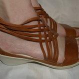 Босоножки сандали кожа ECCO Індонезія размер 41 42, босоніжки сандалі шкіра