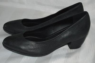 Туфли лодочки кожа ECCO размер 40 39, туфлі шкіра