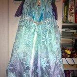 0055. Платье эльза 2-4 года Холодное Сердце